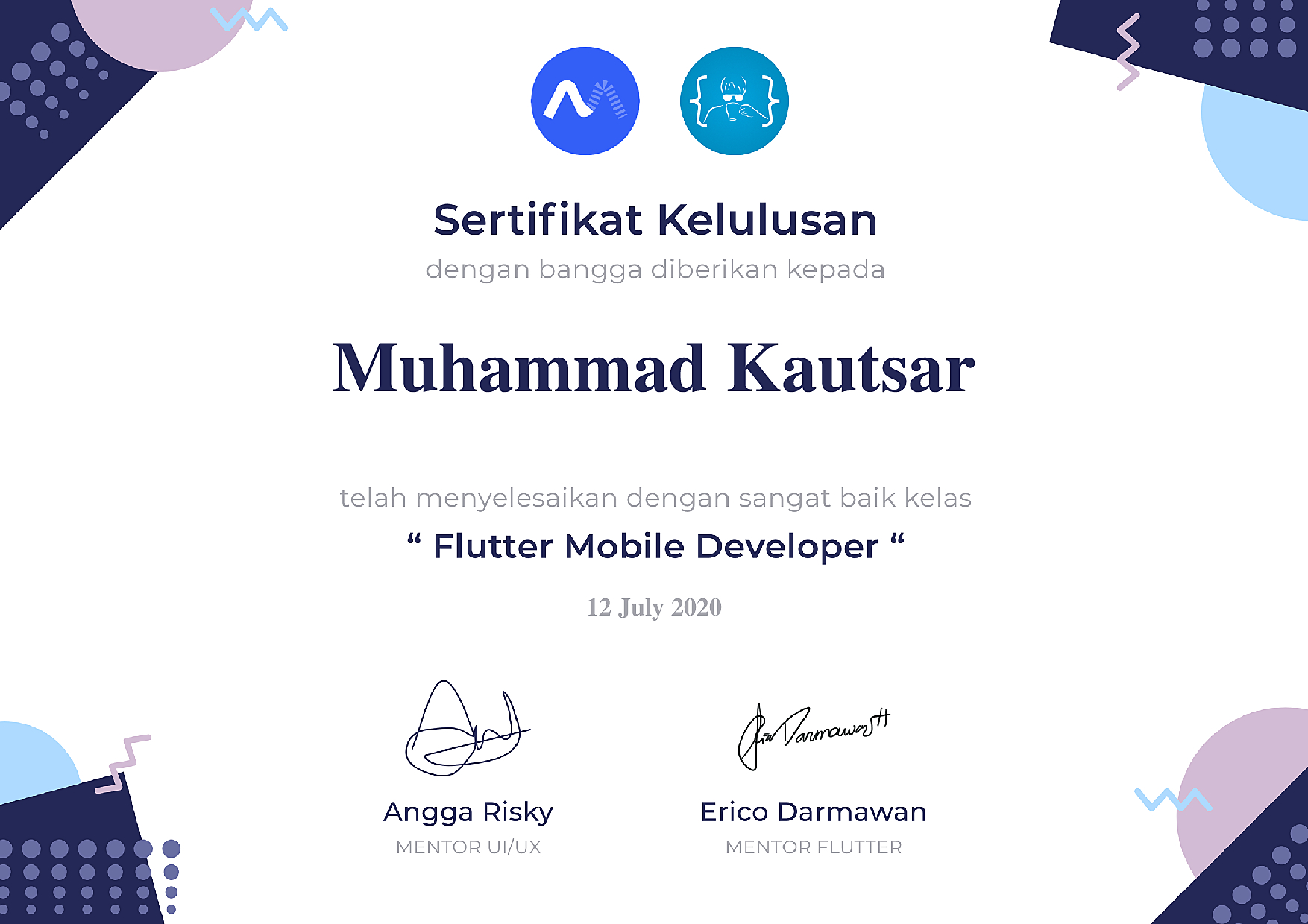 Flutter Mobile Apps Developer
