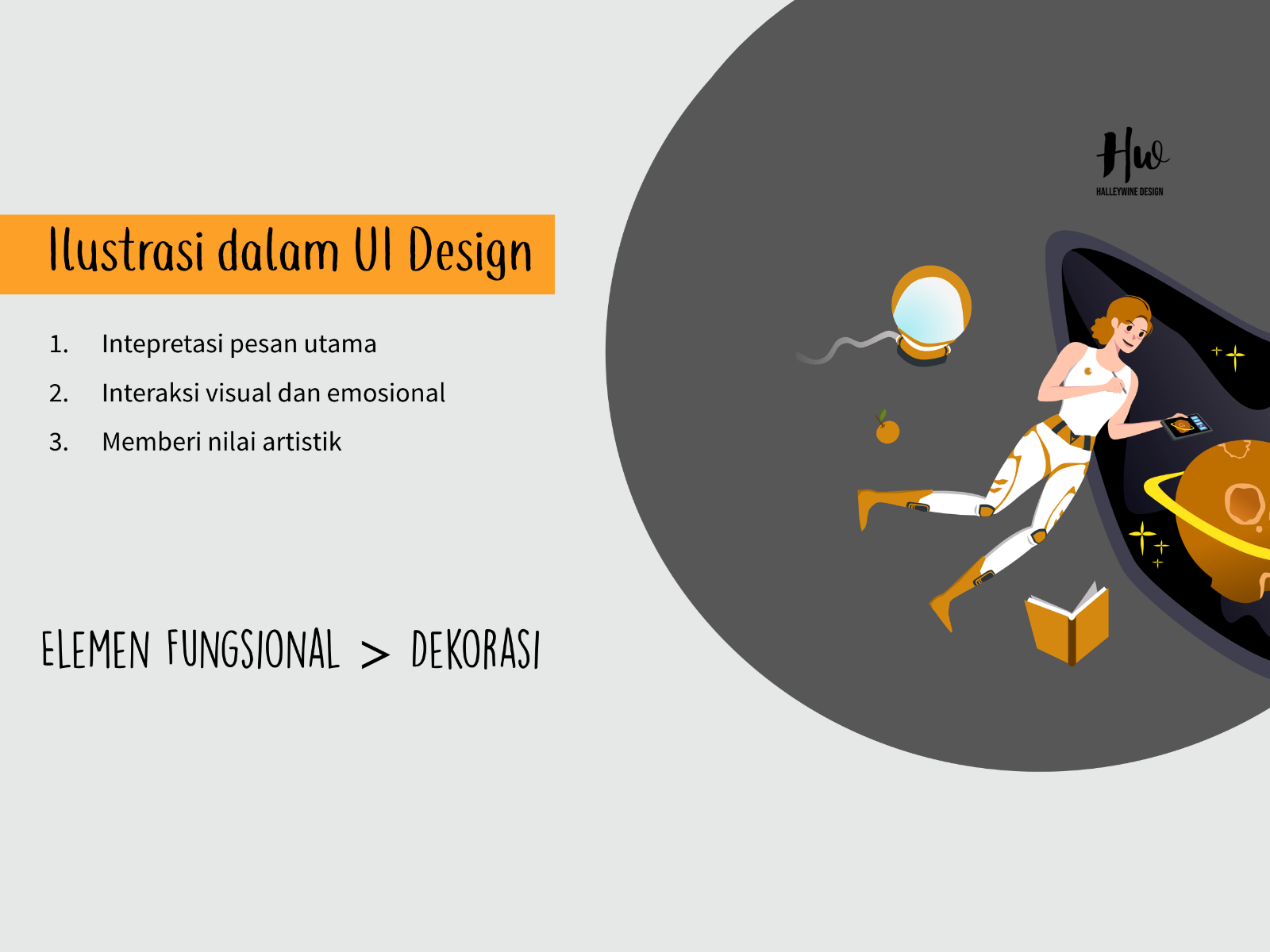 Foto kelas UI Illustration