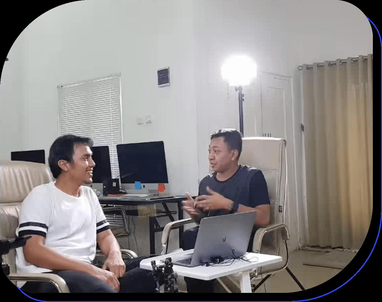 the story behind of buildwith angga